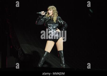Mai 11, 2018 - Taylor Swift führt Live at Levi\'s Stadion in Santa ...