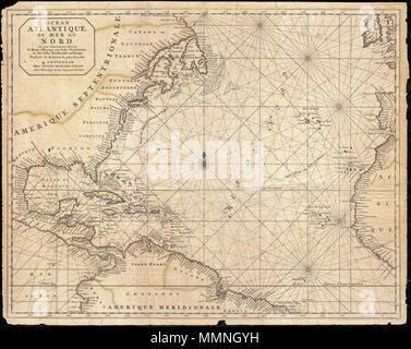 Mittelamerika Karibik und Amerika Karte Vektor Abbildung - Bild ...