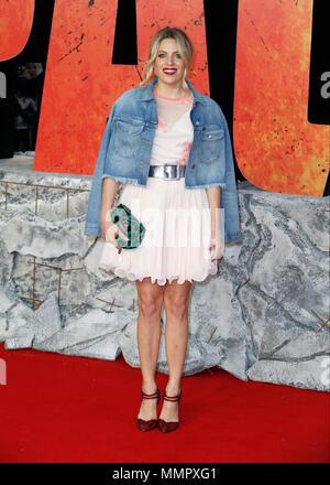 """Die Europäische Erstaufführung von """"Rampage"""" im Cineworld Leicester Square - Ankunft mit: Olivia Cox Wo: London, Vereinigtes Königreich, wenn: 11 Apr 2018 Credit: Mario Mitsis/WENN.com - Stockfoto"""