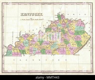 Englisch Ein Wunderschönes Beispiel Von Finleys Wichtige Karte