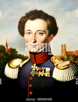 Carl von Clausewitz (1780 - 1831). 19. Clausewitz - Stockfoto
