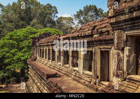 Majestätisch und antiken Tempel Baphuon. Angkor, Siem Reap, Kambodscha. - Stockfoto