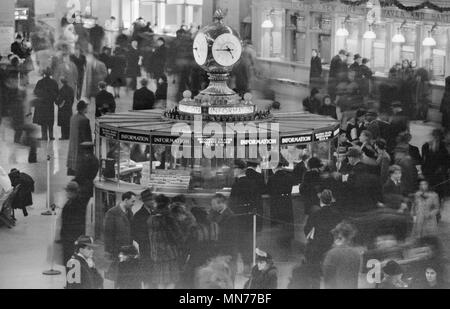 Grand Central Terminal, New York City, New York, USA, Office of War Information, Dezember 1941 - Stockfoto
