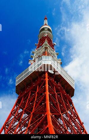 Tokyo Tower, Tokyo, Japan - Stockfoto