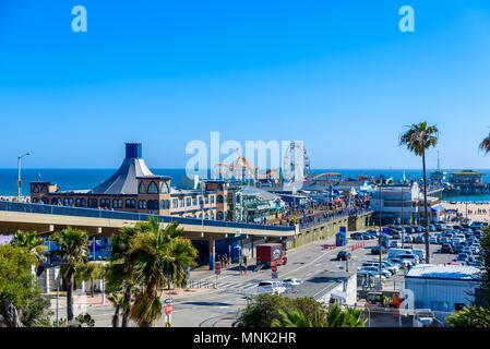 Pacific Park am Santa Monica Beach, Los Angeles, Kalifornien, USA - Stockfoto