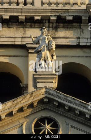 Santa Maria della Salute Kirche, Dorsoduro Venedig - Stockfoto