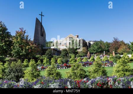 Campus der Franziskanischen Universität von Steubenville, Steubenville, Ohio, USA. - Stockfoto