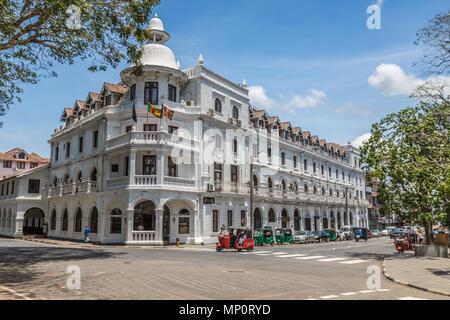 Alten kolonialen Gebäuden in Kandy Sri Lanka - Stockfoto