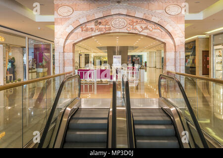 Innenarchitektur und Design der Wafi Shopping Center, Dubai, Vereinigte Arabische Emirate, Naher Osten. - Stockfoto