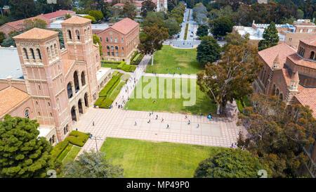 Royce Hall, Dickson, UCLA Campus, Universität von Kalifornien in Los Angeles, Kalifornien - Stockfoto