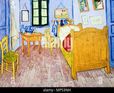 ... Magyar: Vincent Hálószobája Arles Verbot (Az Párizsi Változat)  Englisch: Schlafzimmer In