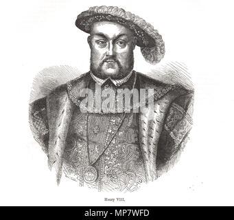 König Heinrich VIII. von England, 1491-1547, regierte 1509-1547