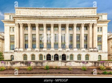 Das US-Landwirtschaftsministerium Gebäude (aka die Jamie L. Whitten) in Washington DC. - Stockfoto