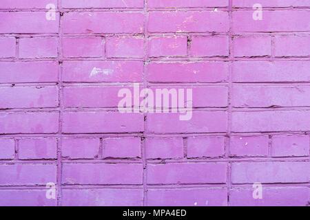 Violet Wand, im städtischen Hintergrund, Platz für Text gestrichen. Horizontale Textur. Abstrakte moderne Hintergrund, Muster, Wallpaper, Banner Design, Platz für Text