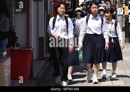Schüler Kyoto - Stockfoto
