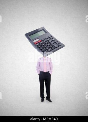 Buchhaltung-Konzept: Kalkulationstabelle auf einem Laptop-Bildschirm ...
