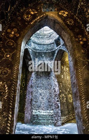 Shell Grotte in der Küstenstadt Ramsgate, Großbritannien - Stockfoto