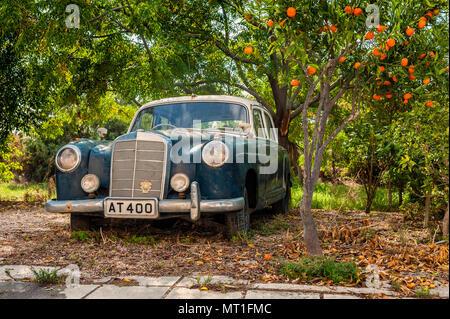 Auto Oldtimer Mercedes Benz Cabrio 320 B Dur Baujahr