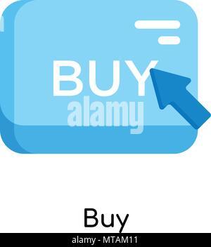 Kaufen Symbol auf weißem Hintergrund für Ihre Web- und mobile App Design isoliert - Stockfoto