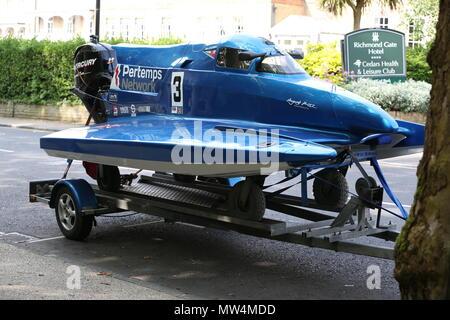 Coleman Racing - Offshore Motorboot Racing Team - P1 Superstock - Stockfoto