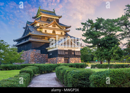 Matsue, Shimane, Japan in Matsue Schloss. - Stockfoto