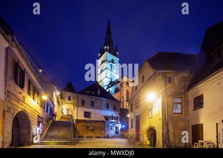 Altstadt, Sibiu, Rumänien, Europa - Stockfoto