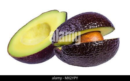 frische avocado obst auf wei em hintergrund mit freistellungspfad stockfoto bild 169968779. Black Bedroom Furniture Sets. Home Design Ideas