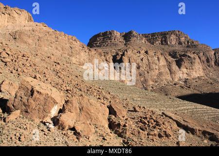 Todra Tal Marokko Stockfoto