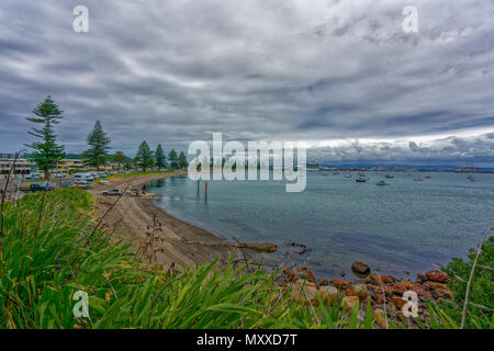 Hafen in Mount Maunganui, Neuseeland - Stockfoto