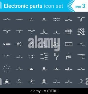 elektrische und elektronische schaltplan symbole der. Black Bedroom Furniture Sets. Home Design Ideas