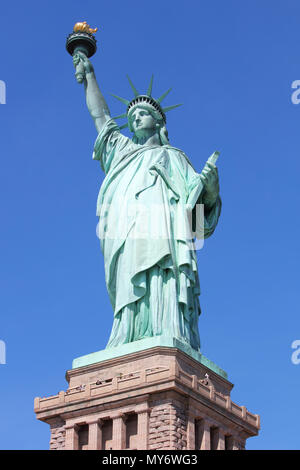 Amerikanisches Symbol - Statue of Liberty. New York, USA. - Stockfoto