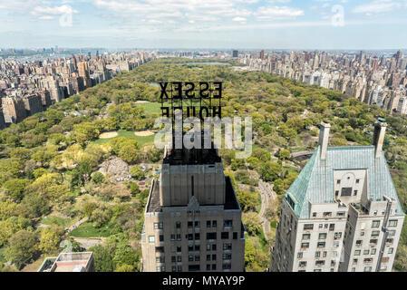"""Stadtbild des Central Park in New York City, USA' - Stockfoto"