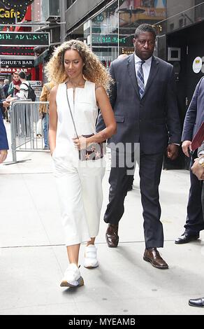 New York, NY, USA. 06 Juni, 2018. Leona Lewis bei Good Morning America in New York. Juni 06, 2018 Credit: Rw/Medien Punch/Alamy leben Nachrichten - Stockfoto