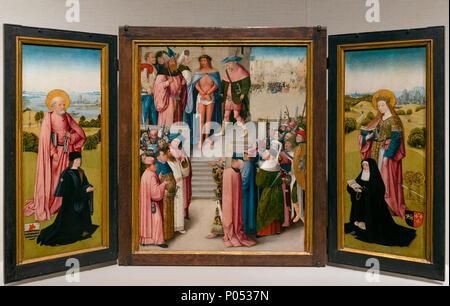 Ecce Homo, Workshop von Hieronymus Bosch, das Museum der Feinen Künste, Boston, Mass, USA, Nordamerika - Stockfoto