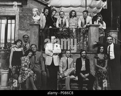 Original Film Titel: LA TERRAZZA. Englischer Titel: auf der Terrasse ...