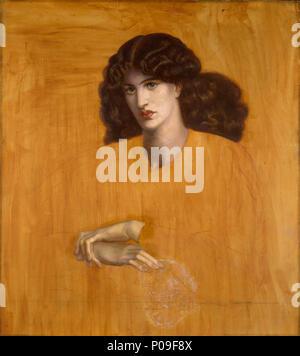 . Englisch: La donna della Finestra (die Dame aus Mitleid) - Gemälde von Dante Gabriel Rossetti. . La donna della Finestra. 1881 62 La donna della Finestra - 1885 P 2465 - Stockfoto