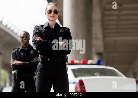 Amerikanische Polizisten