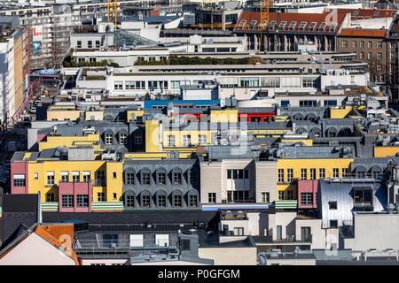 Berlin Mitte, Gebäude zwischen e und SchŸtzenstra Zimmerstra § § e, Deutschland - Stockfoto