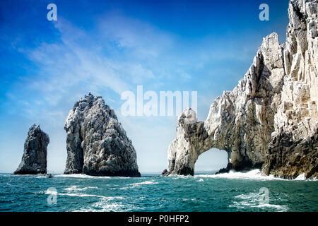 Der Bogen bei Land's End. Cabo San Lucas, Mexiko. - Stockfoto
