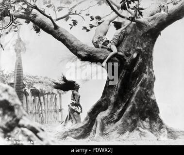 Original Film Titel: Der Hurrikan. Englischer Titel: The Hurricane. Regisseur: John Ford. Jahr: 1937. Stars: JON HALL; Dorothy Lamour. Quelle: UNITED ARTISTS/Album - Stockfoto