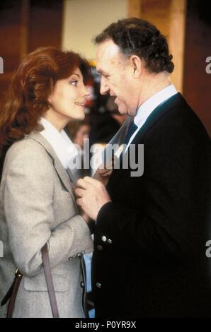 Original Film Titel: Ziel. Englischer Titel: Ziel. Regisseur: Arthur Penn. Jahr: 1985. Stars: Gene Hackman; ILONA GRUBEL. Quelle: CBS/WARNER BROS./Album - Stockfoto