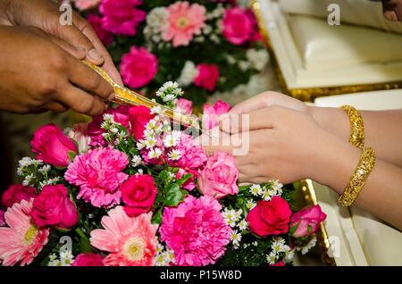 Sammlung von Hochzeit - Stockfoto