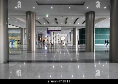 Eine Passage im World Trade Center Seoul allgemein bekannt als Das COEX, ein Gebäudekomplex auf dem COEX Convention and Exhibition Center in Samseong-dong, Gangnam-gu Stadtteil von Seoul. In der Stadt Seoul, die Hauptstadt der Republik Korea - Stockfoto