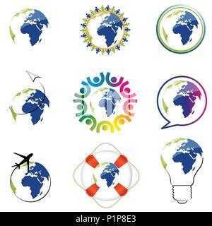 Welt Symbole - Stockfoto