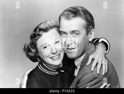 James Stewart, June Allyson, die Glenn Miller Story, 1954 - Stockfoto