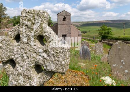 12. Juni 2018-St Stephen's Kapelle, eine Kapelle aus dem 17. Jahrhundert auch als Wald Kapelle bekannt, verschmolzen mit Rainow Parish, 1834 umgebaut, in der westlichen Spitze - Stockfoto