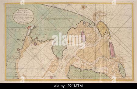 Karte Texel.Karte Von Texel Stockfoto Bild 227998370 Alamy
