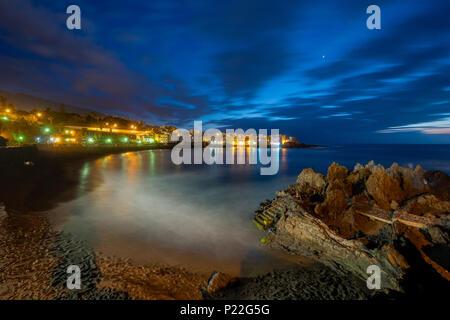 Punta Brava. Playa Jardin Puerto de la Cruz, Teneriffa. - Stockfoto