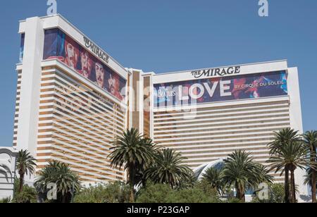 Sin City in Las Vegas in Nevada, USA, Juni 2018 - Stockfoto