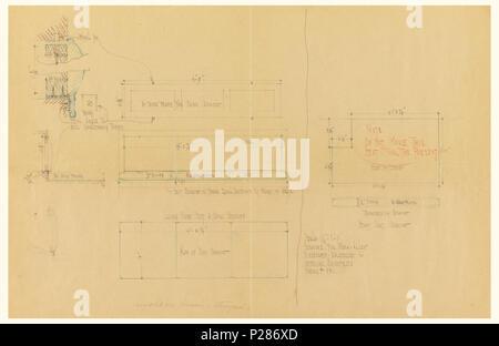 Höhe Auf Englisch : englisch zeichnung plan und erh hung von zweifamilienhaus art nr 4 ca 1921 englisch ~ Watch28wear.com Haus und Dekorationen
